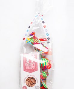 CRANBERRY & APPLE BITES CHRISTMAS GIFT BAG